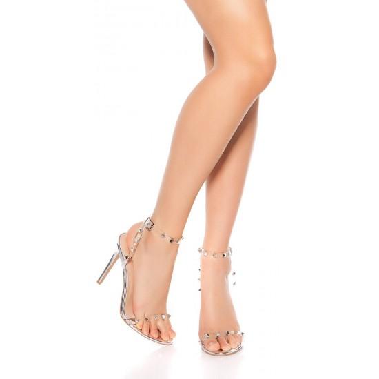 Elegantni ženski sandali s peto